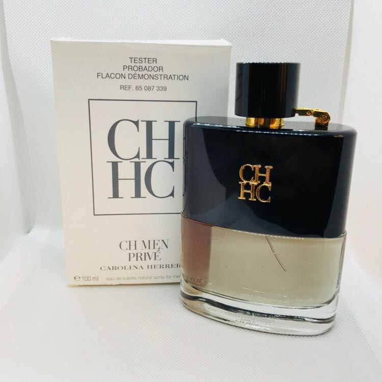 e91231c2772c5 CH Privé Men Carolina Herrera Feminino Eau de Toilette 100ML - Tester