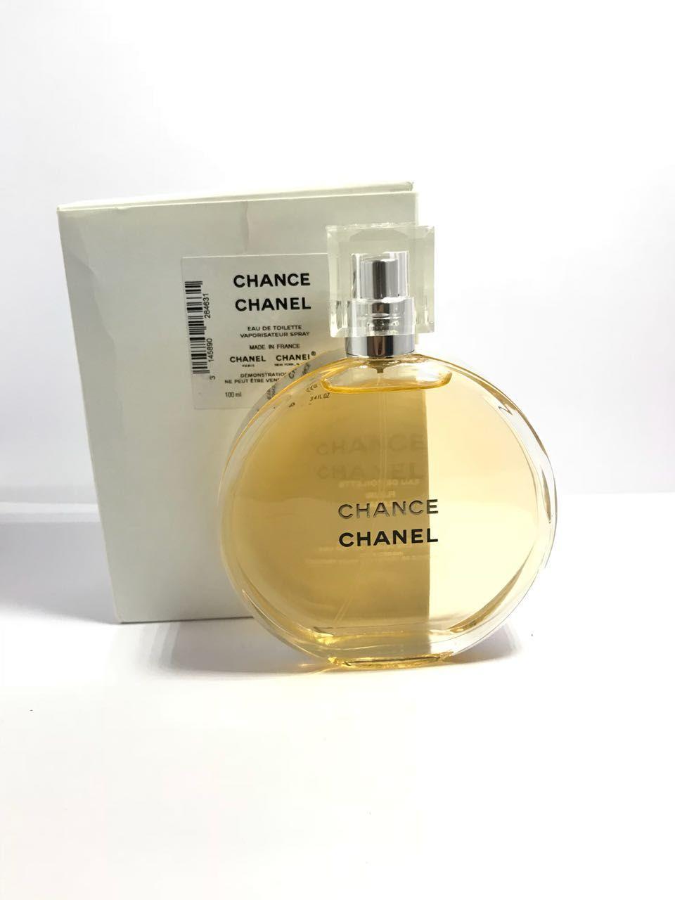 Chance Chanel Feminino Eau de Toiilette 100ML - Tester