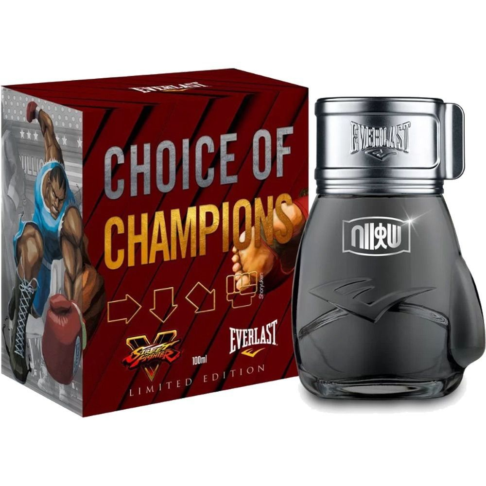 Choice Of Champions Shoryuken Everlast Deo Colônia 100ml