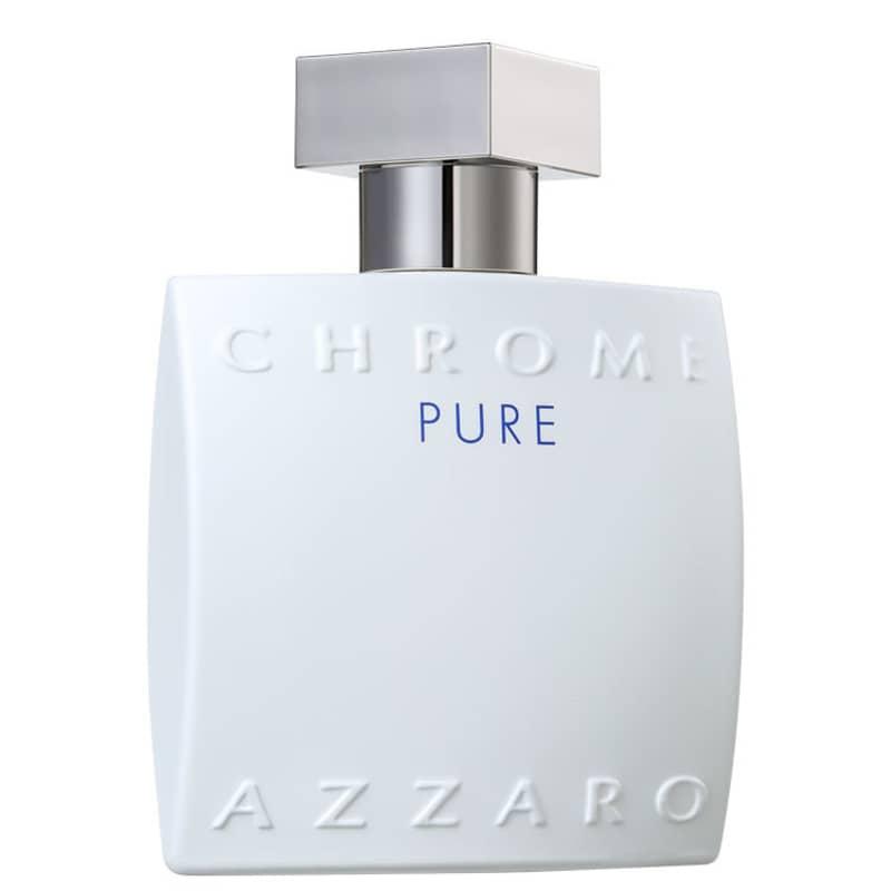 Chrome Pure Azzaro Masculino Eau de Toilettte 100ml