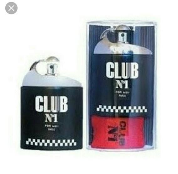 Club Nº1 For Men New Brand Eau de Toilette Masculino 100 ml