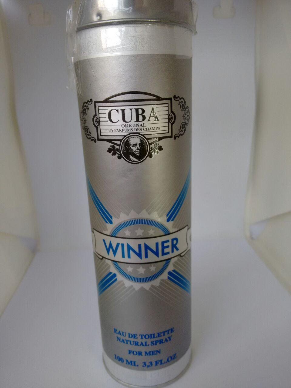 Combo 3: Perfumes Cuba Paris Dourado, Winner E Royal