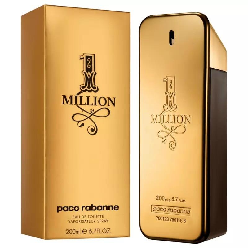 One Million Paco Rabanne Masculino Eau de Toilette 200ml