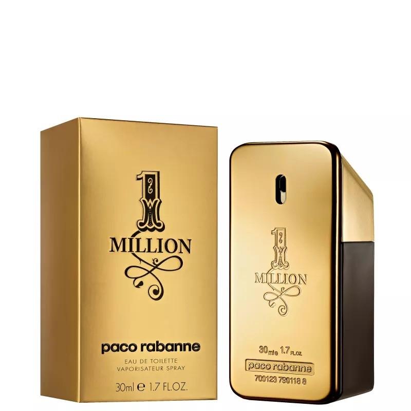 One Million Paco Rabanne Masculino Eau de Toilette 30ml