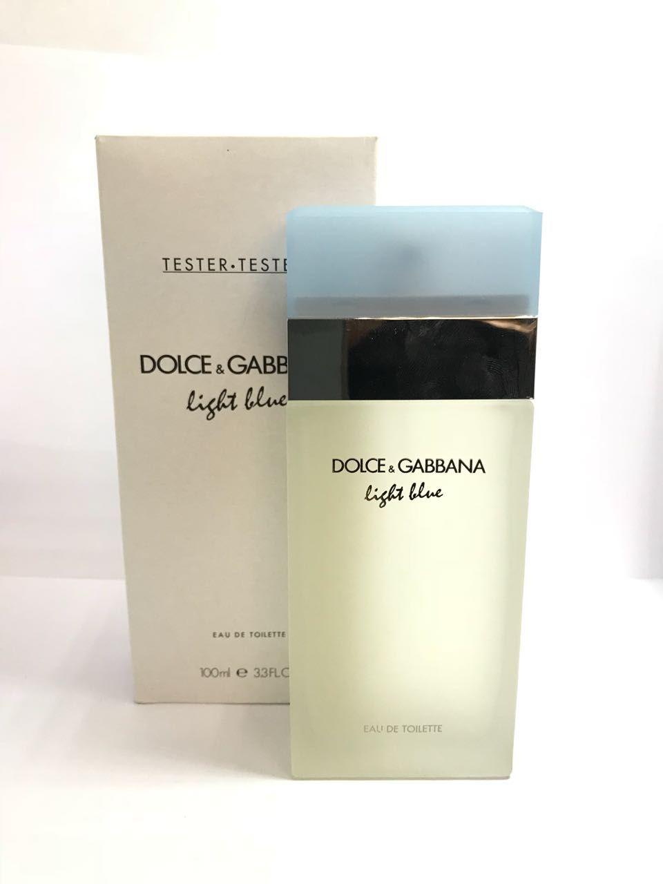 dbfc870a11809 D G Dolce   Gabbana Light Blue Feminino Eau de Toilette 100ML - Tester