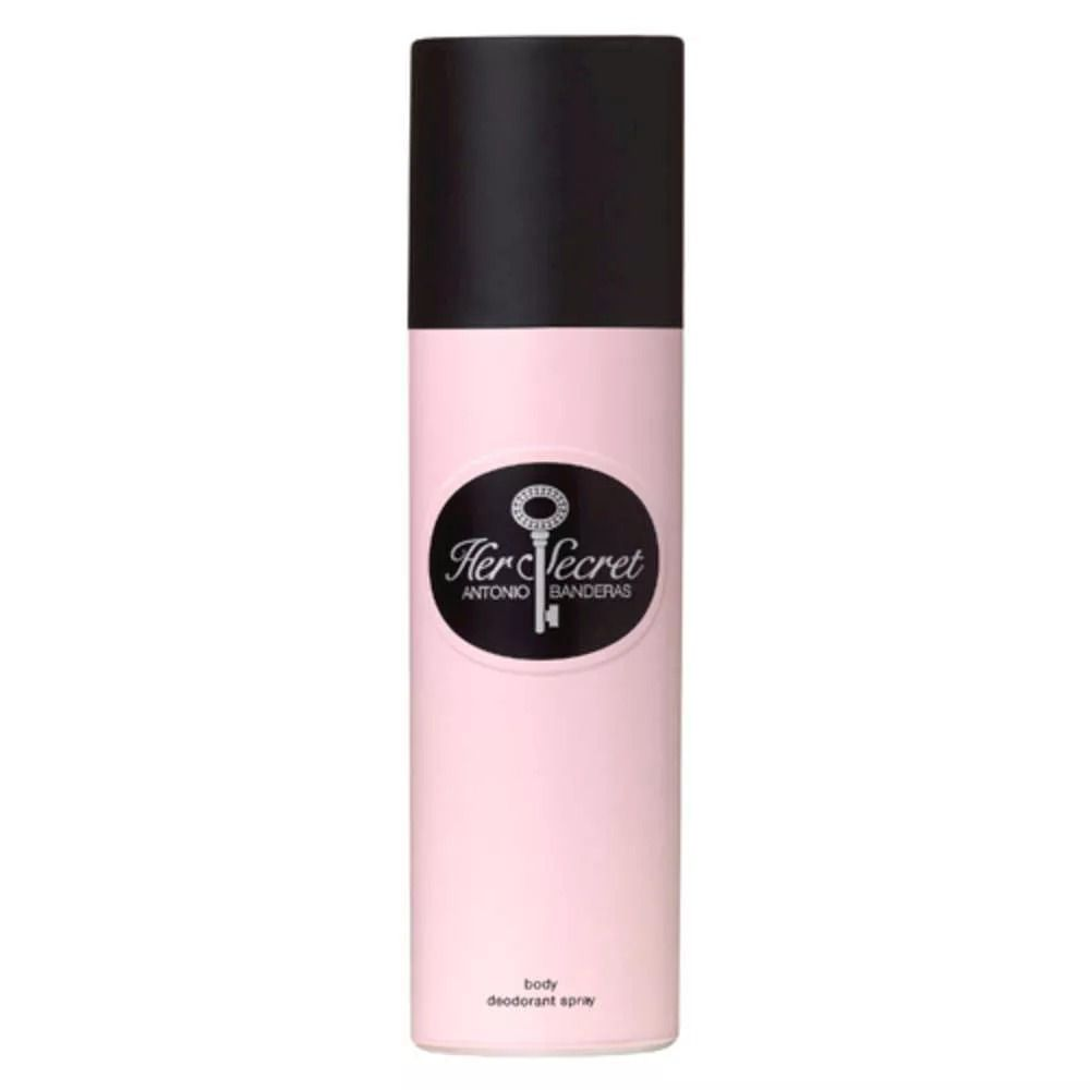 Desodorante Her Secret  Antonio Banderas Feminino 150ml