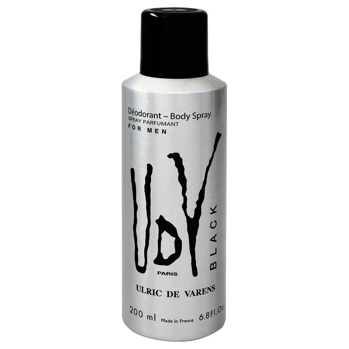 Desodorante Udv Black 200ML - Masculino