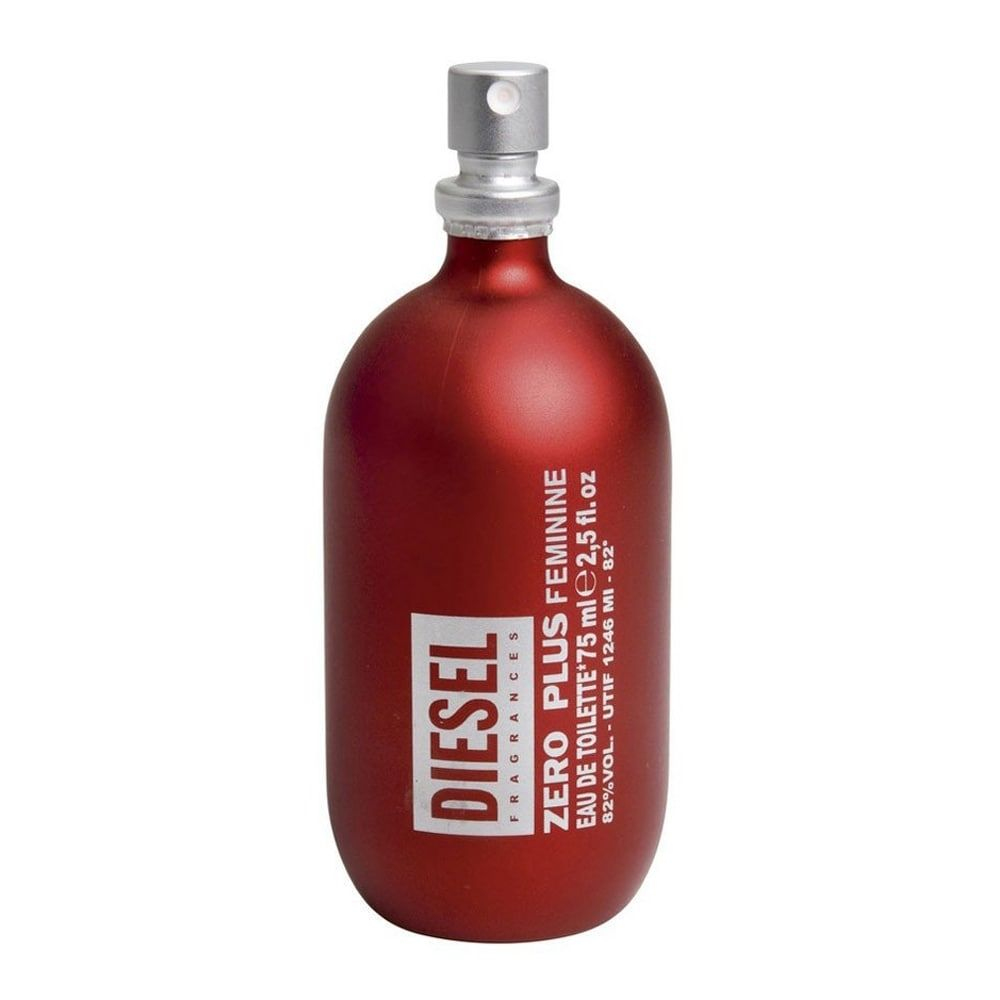 Zero Plus Vermelho Diesel Feminino Eau de Toilette 75ML