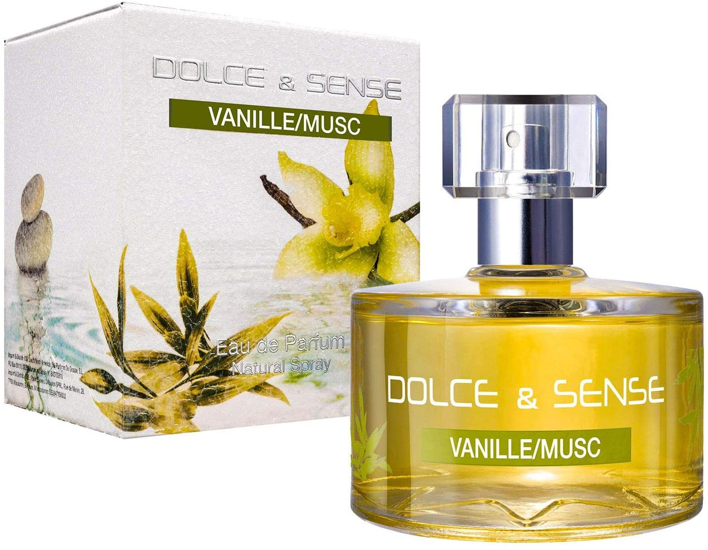 Dolce & Sense Vanille Musc Paris Elysees Eau de Parfum 60 ml