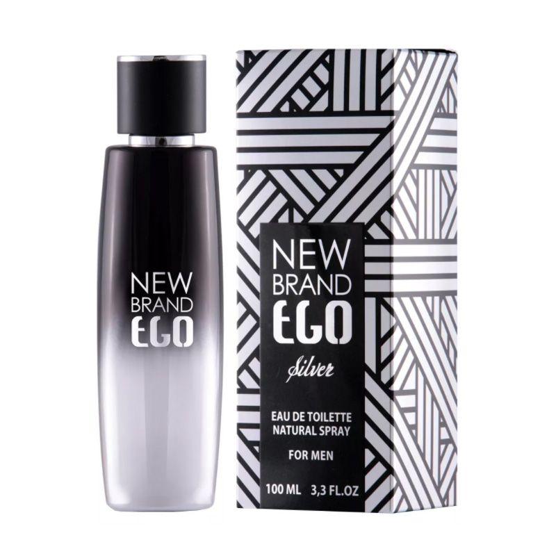 Ego Silver New Brand Masculino Eau de Toilette 100ML