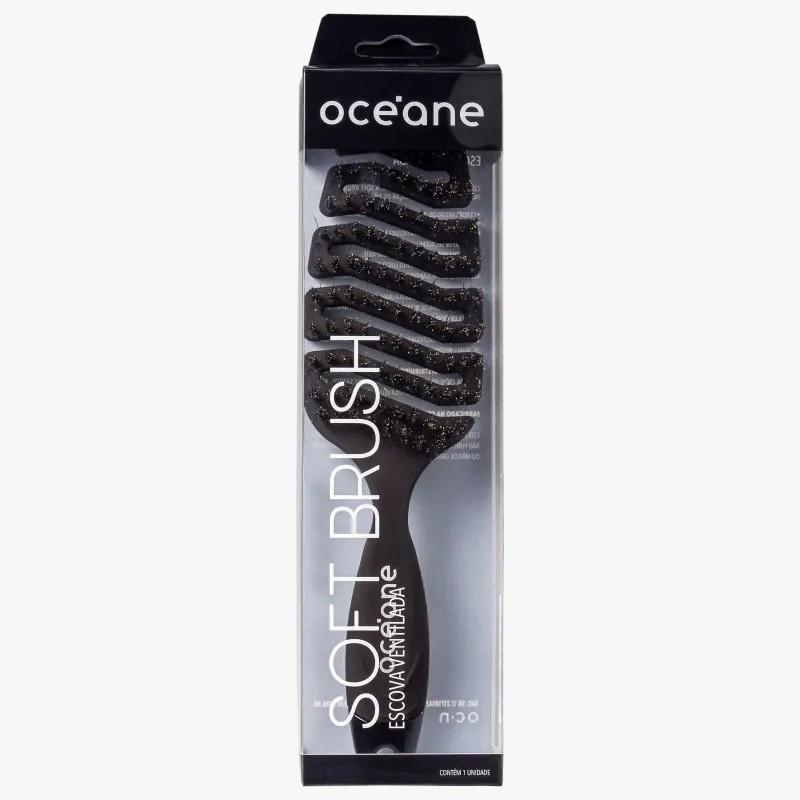 Escova  Océane Soft Brush - - Escova de Cabelo