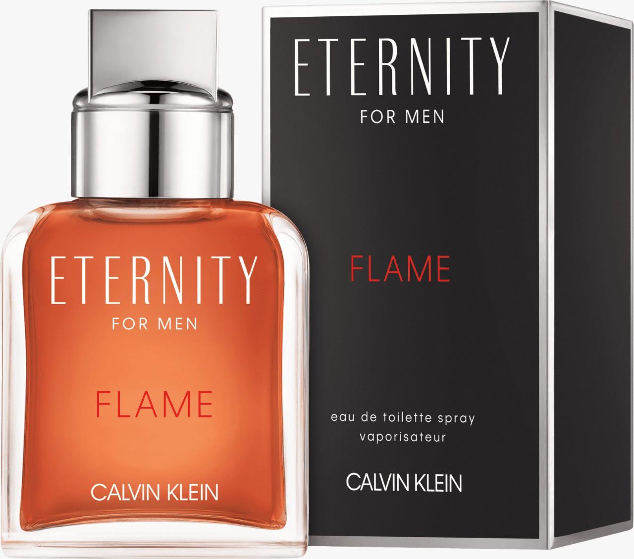 Eternity Flame Calvin Klein Masculino Eau de Toilette