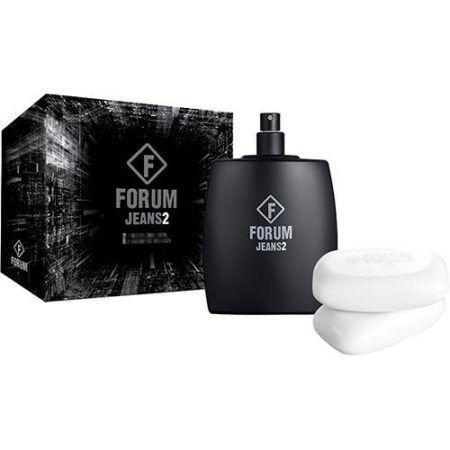 Forum Jeans-2 Kit Masculino Deo Colônia 100ML + Sabonete