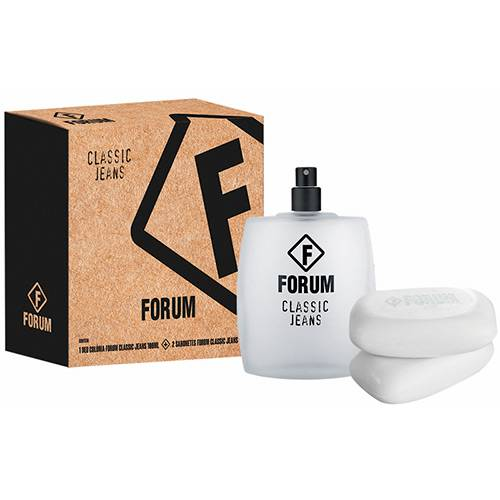 Forum Jeans Masculino Deo Colônia 100ML + Sabonete