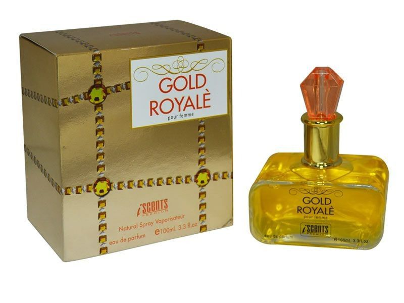 Gold Royalé Iscents Feminino Eau de Parfum 100ml