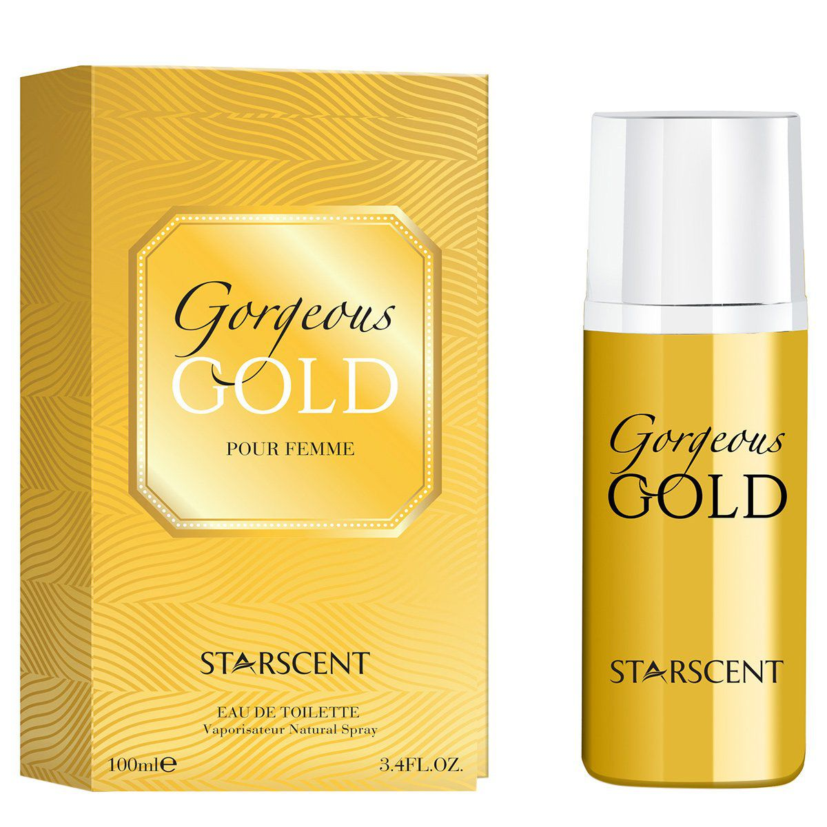 Gorgeous Gold Starscent  Feminino Eau de Parfum 100ml