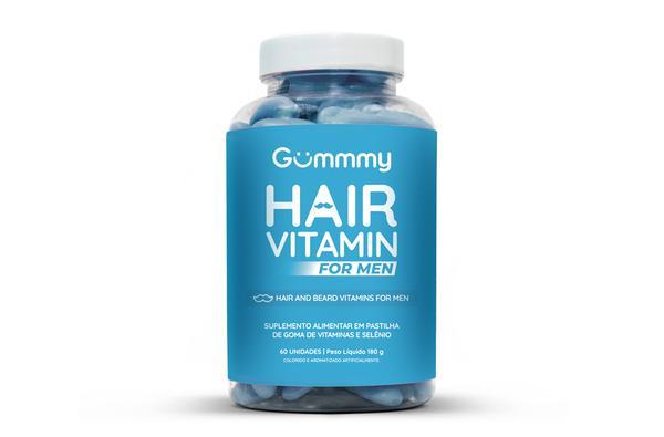 Gummy Hair Vitamin For Men  60 Gomas
