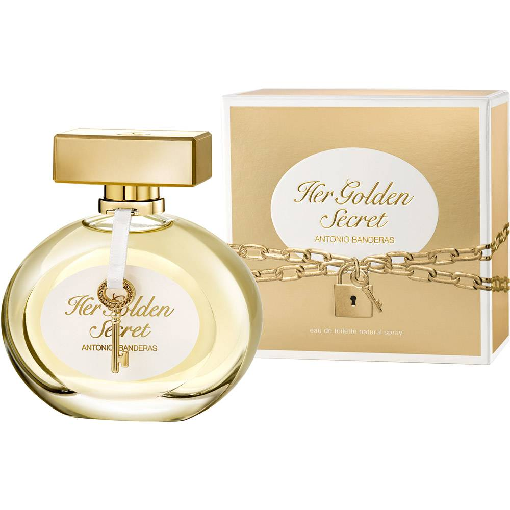 Her Golden Secret Antonio Banderas Eau de Toilette
