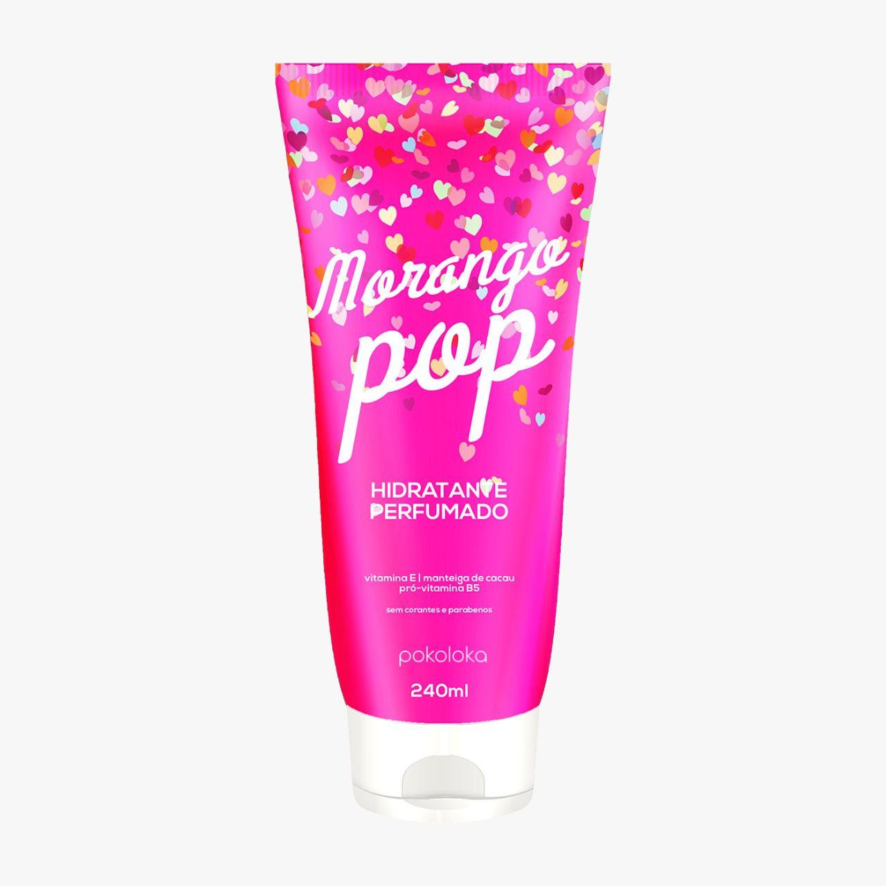 Hidratante Perfumado Morango Pop Pokaloka 240ml