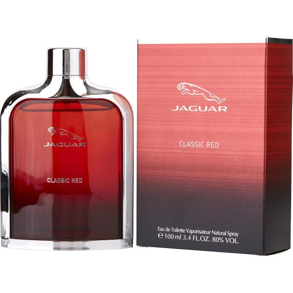 Jaguar Classic Red  Jaguar  Eau de Toilette Masculino 100 Ml