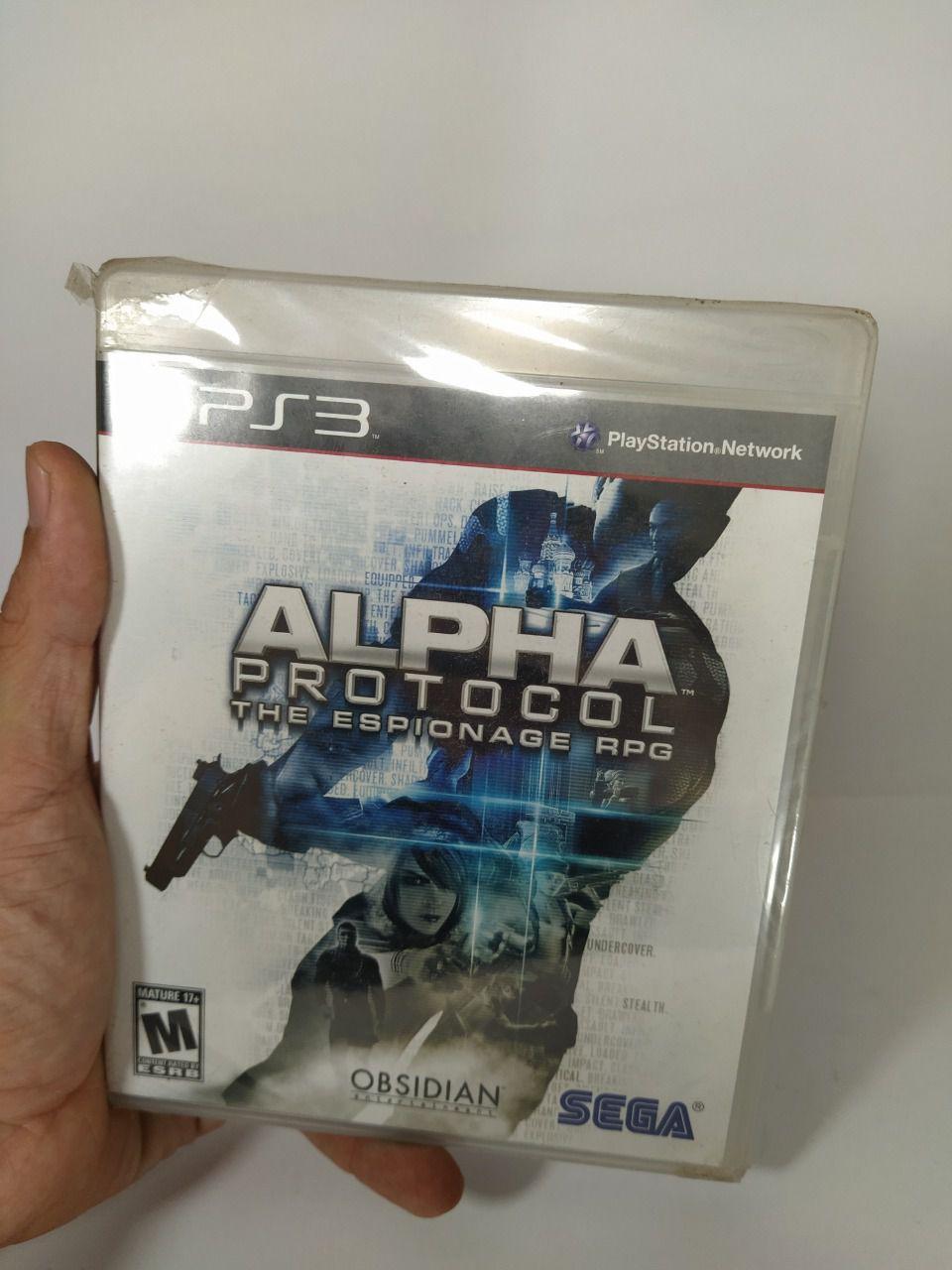 Jogo Alpha Protocol Ps3 Mídia Física Lacrado