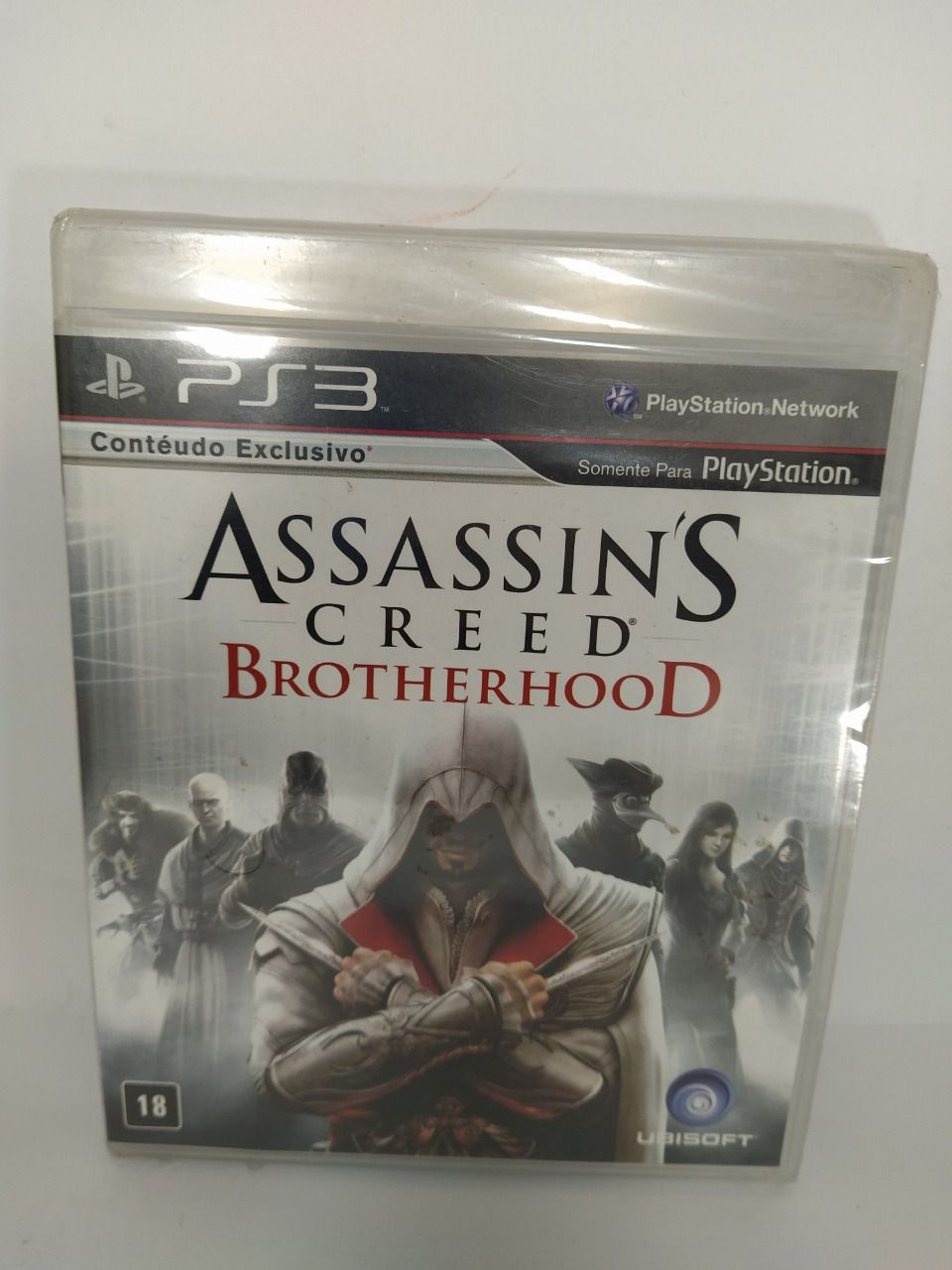 Jogo Assassin's Creed Brotherhood Ps3 Novo