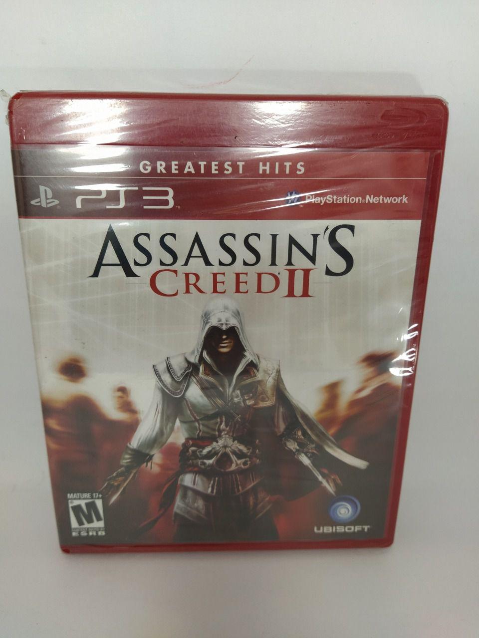 Jogo Assassin's Creed II Ps3 Mídia Física Lacrado