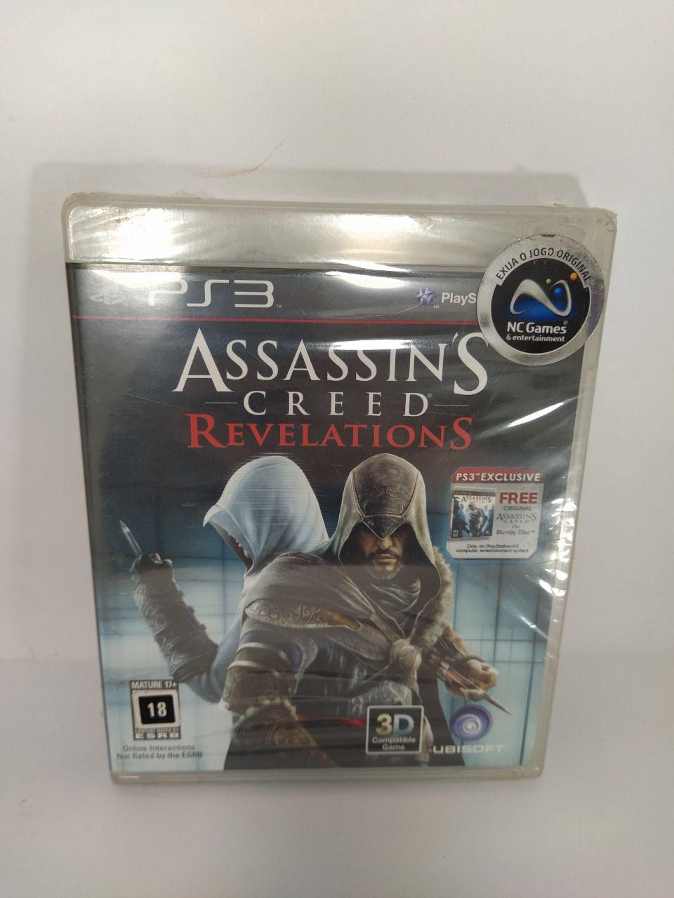 Jogo Assassin's Creed Revelations Ps3 Novo