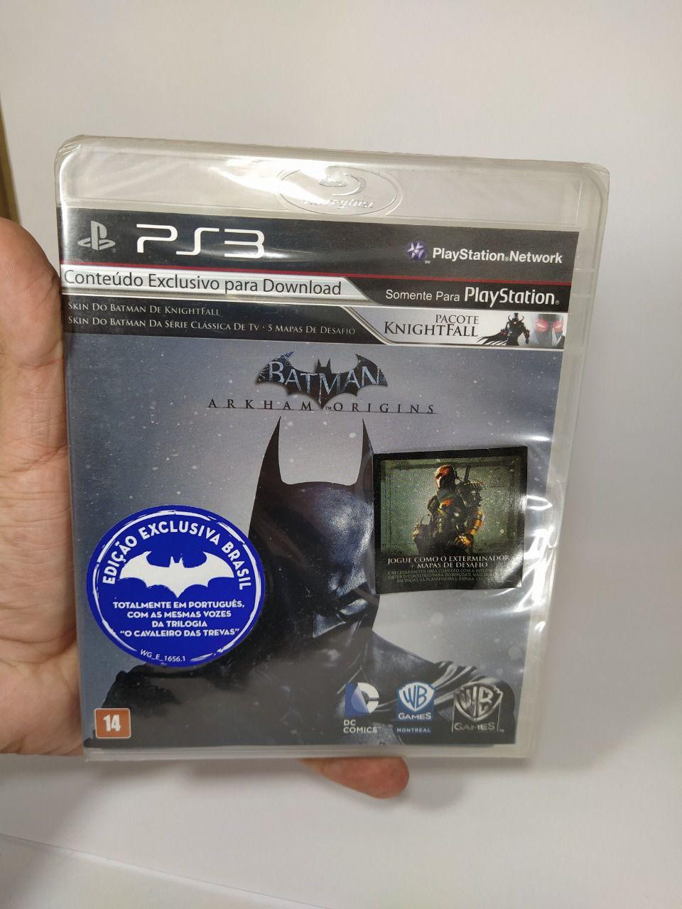 Jogo Batman Arkham Origins Ps3 Novo