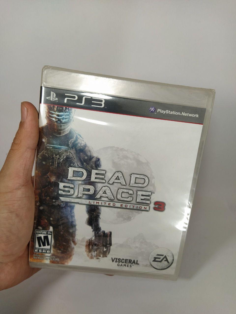 Jogo Dead Space 3 Ps3 Novo