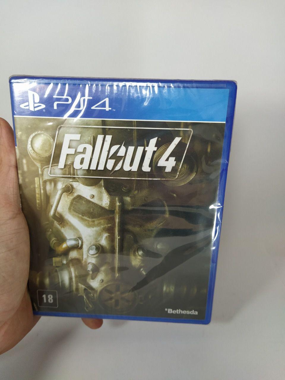 Jogo Fallout 4 Ps4 Novo