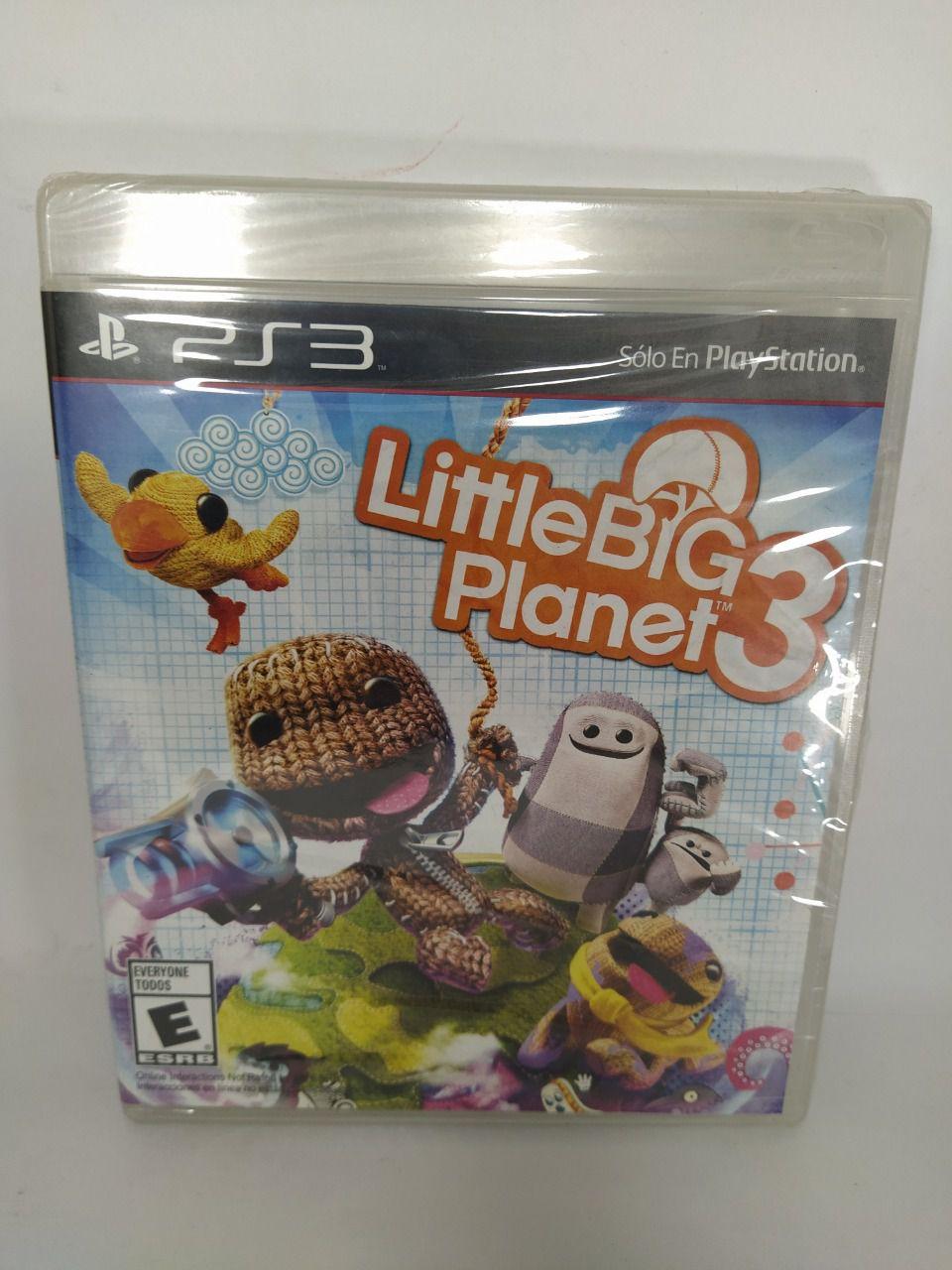 Jogo LittleBigPlanet 3 Ps3 Novo