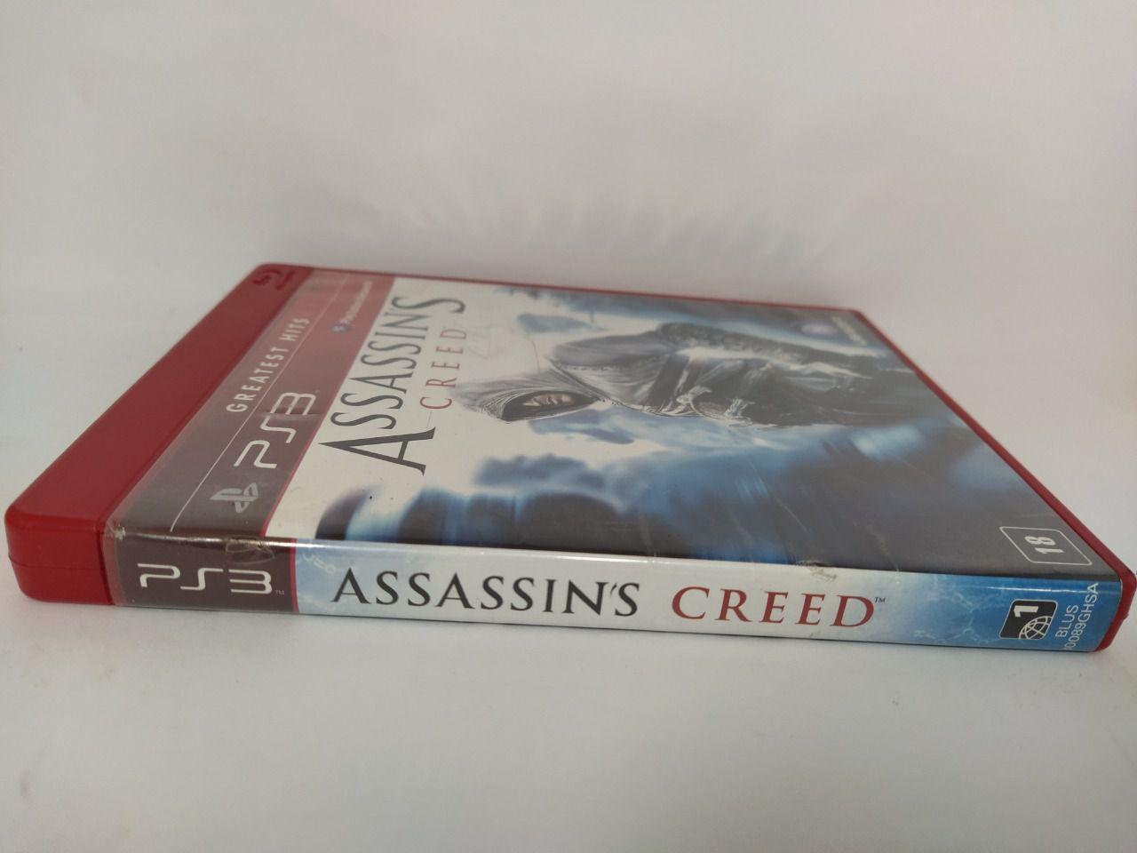 Jogo Ps3 Assassin's Creed Mídia Física Usado
