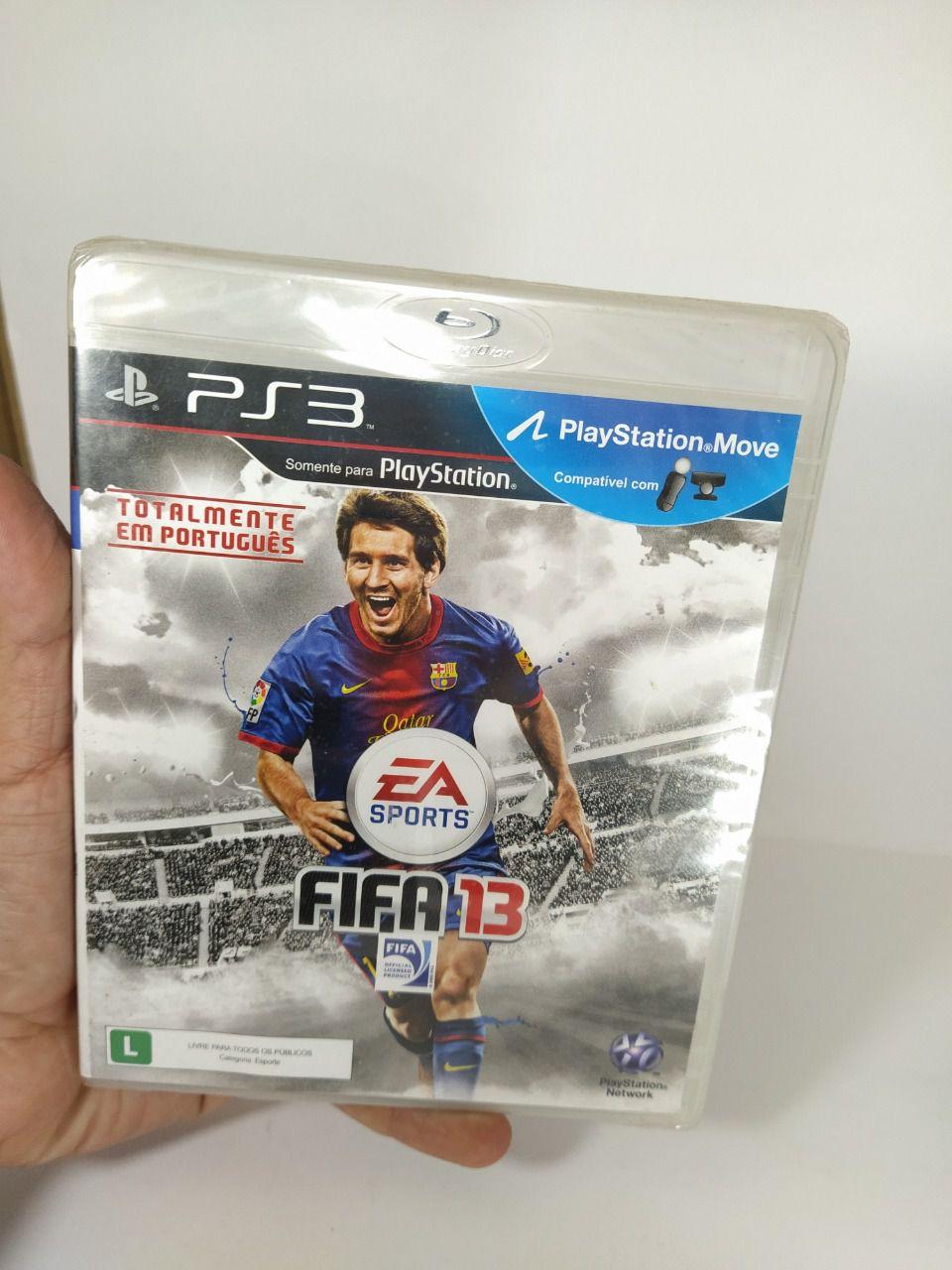 Jogo Ps3 FIFA 13 Mídia Física Lacrado