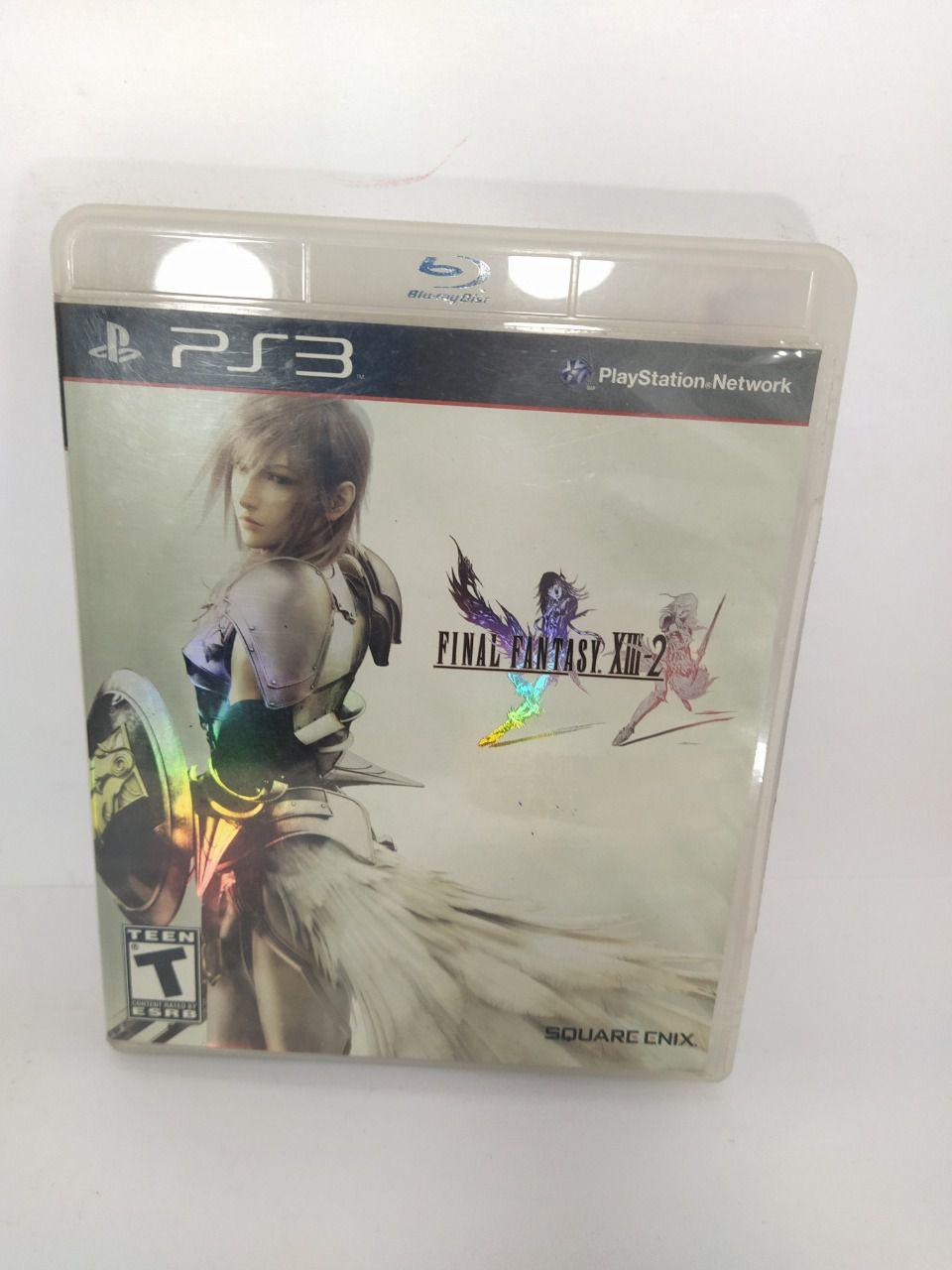 Jogo Ps3 Final Fantasy XIII-2 Mídia Física Usado