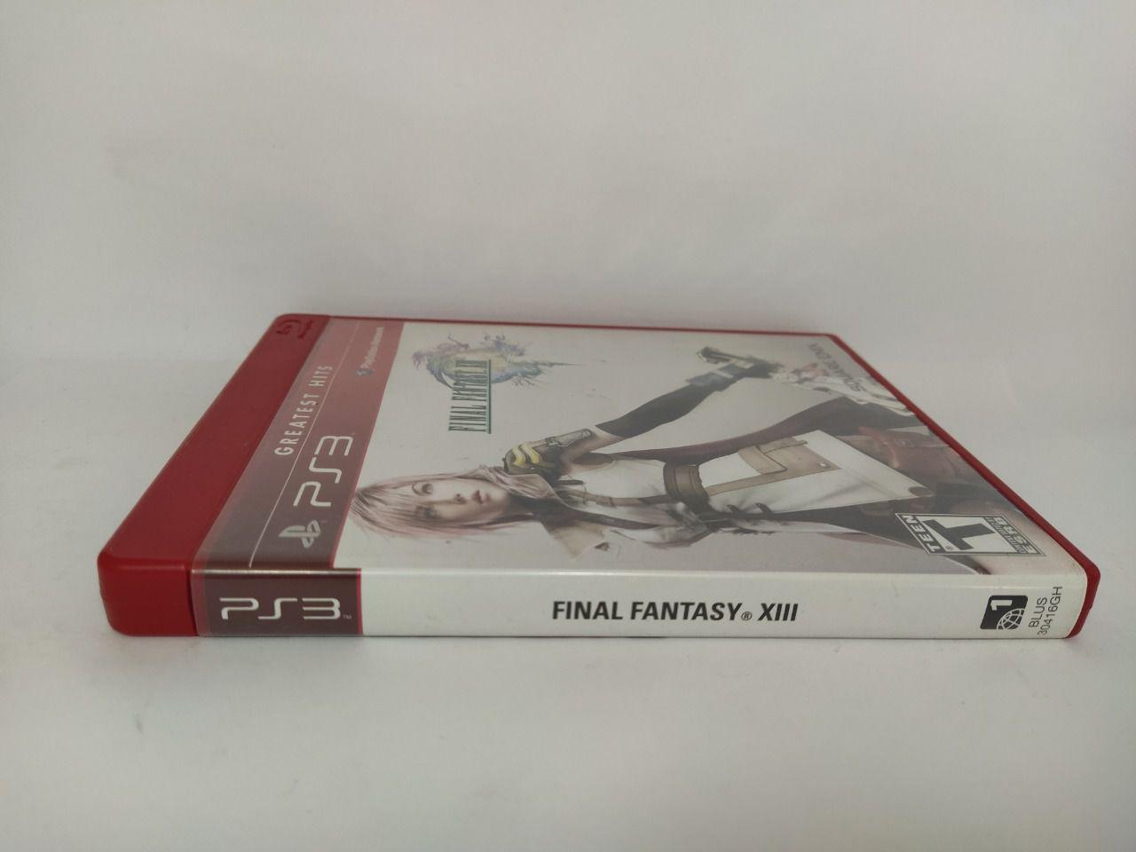 Jogo Ps3 Final Fantasy XIII Mídia Física Usado