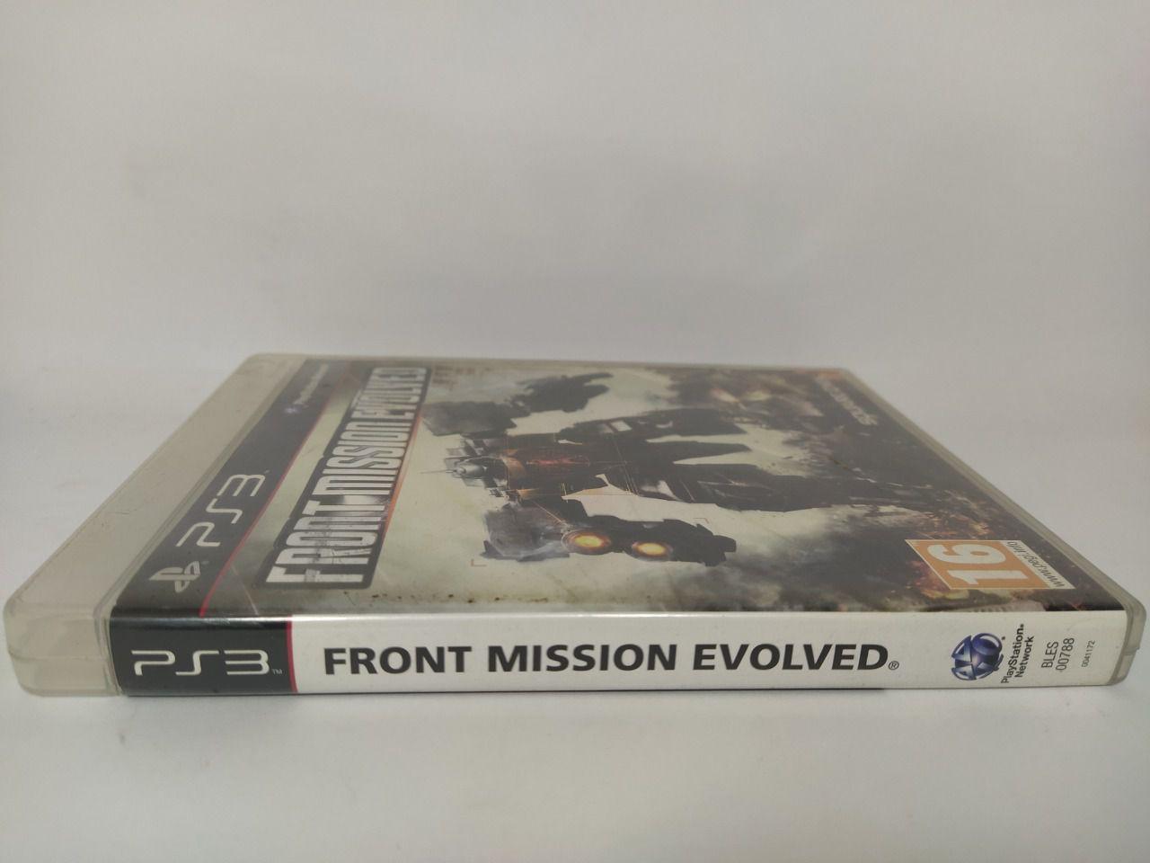 Jogo Ps3 Front Mission Evolved Mídia Física Usado