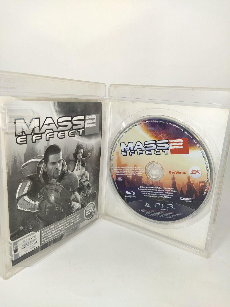 Jogo Ps3 Mass Effect 2 Mídia Física Usado