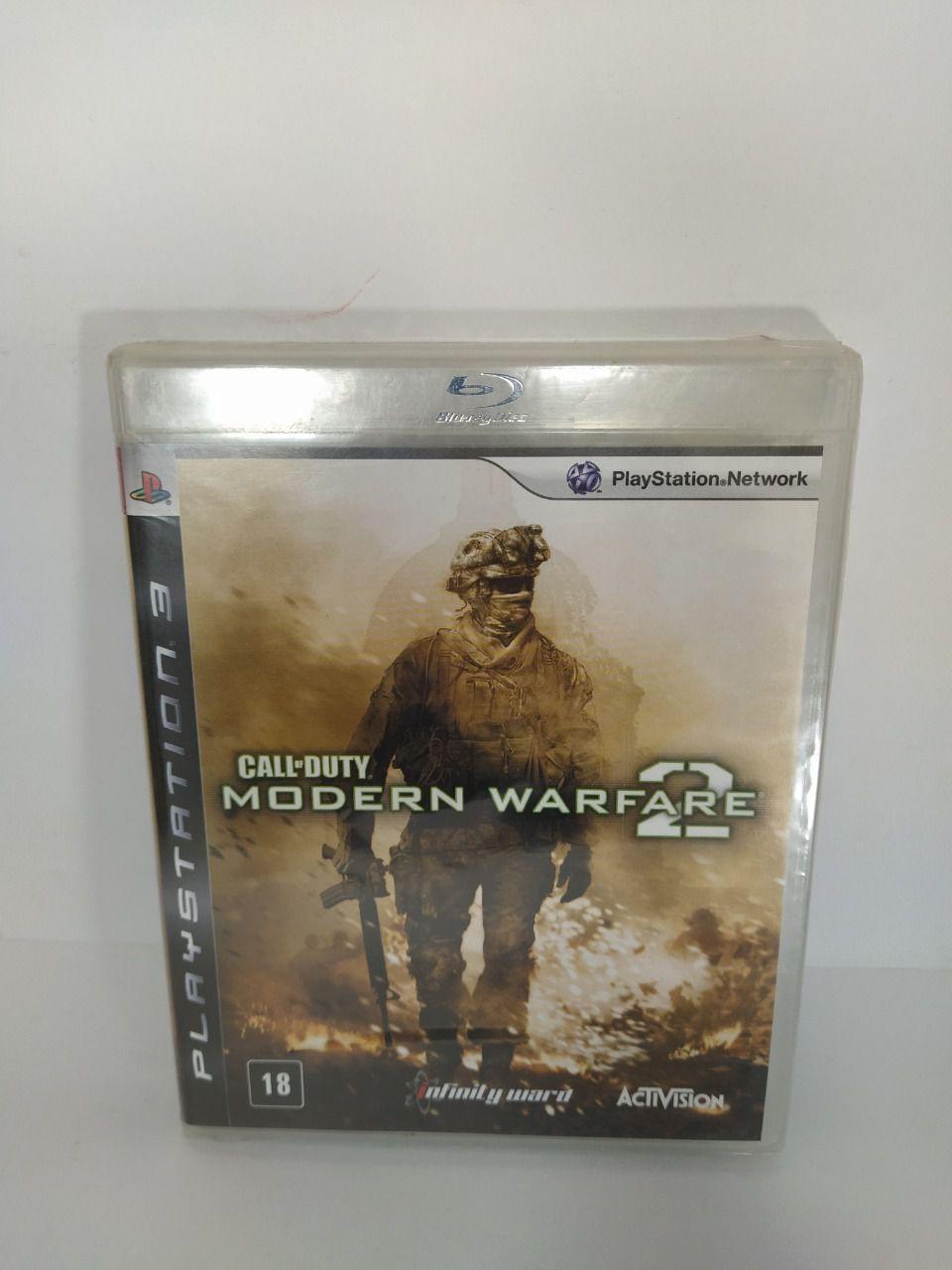 Jogo Ps3 Modern Warfare 2 Mídia Física Lacrado