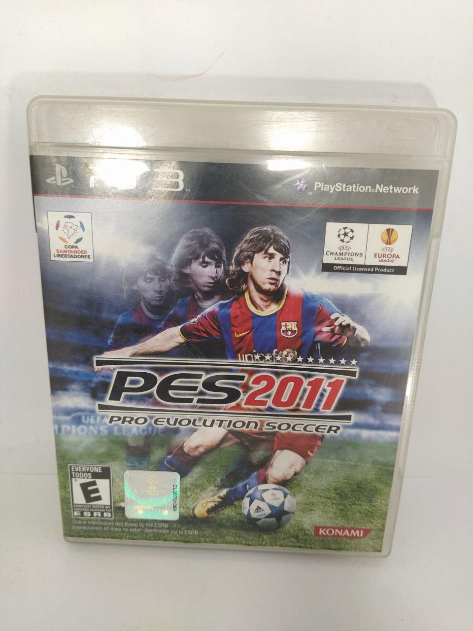 Jogo Ps3 Pro Evolution Soccer 2011 Mídia Física Usado