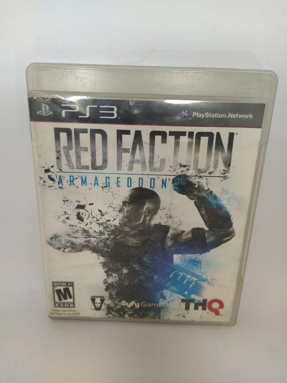 Jogo Ps3 Red Faction: Armageddon Mídia Física Usado
