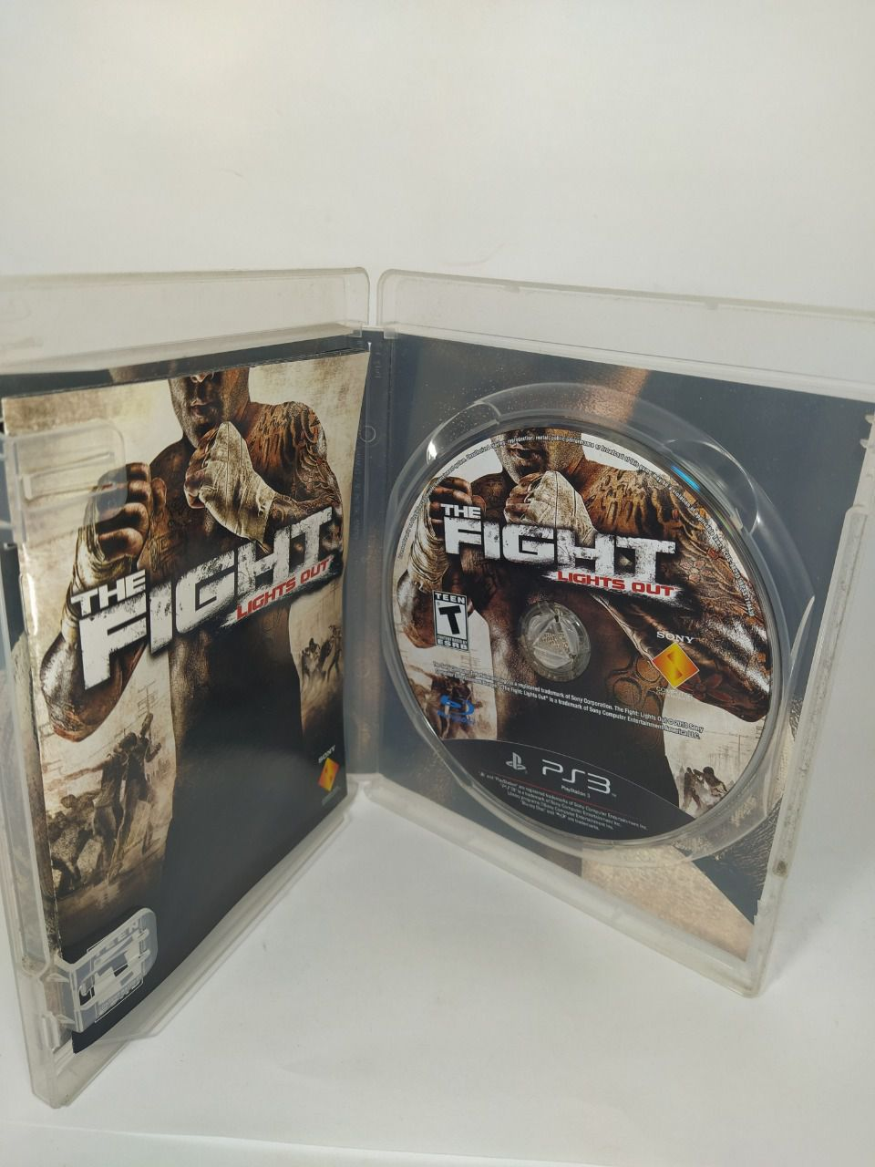 Jogo ps3 The Fight: Lights Out Mídia Física Usado