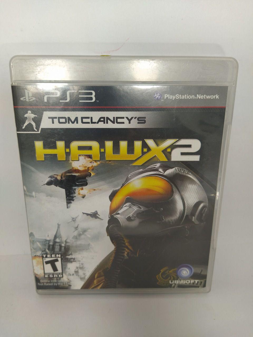 Jogo Ps3 Tom Clancy's H.A.W.X 2 Mídia Física Usado
