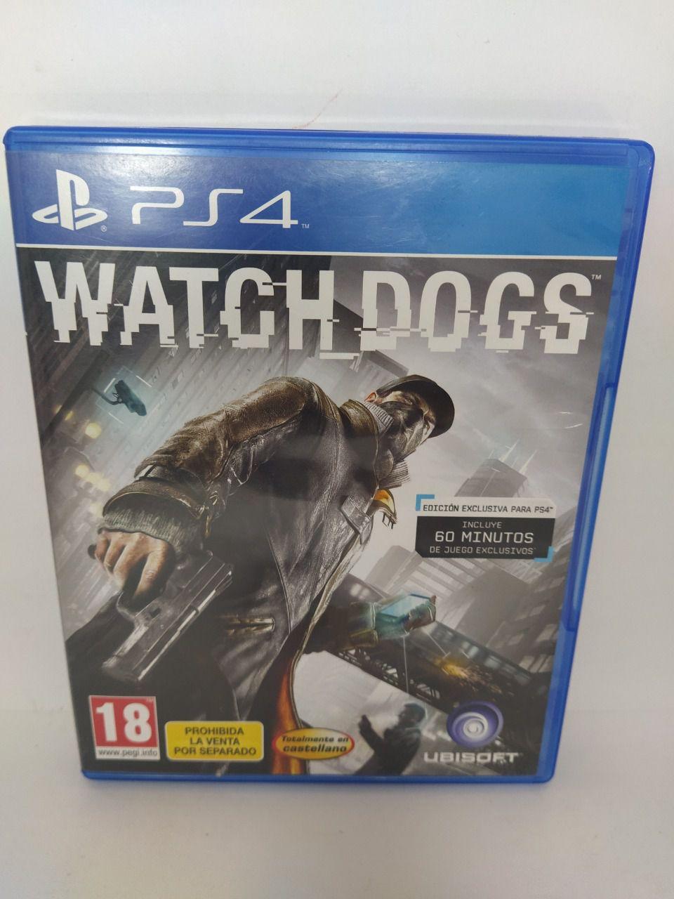 Jogo Ps4 Watch Dogs Mídia Física Usado
