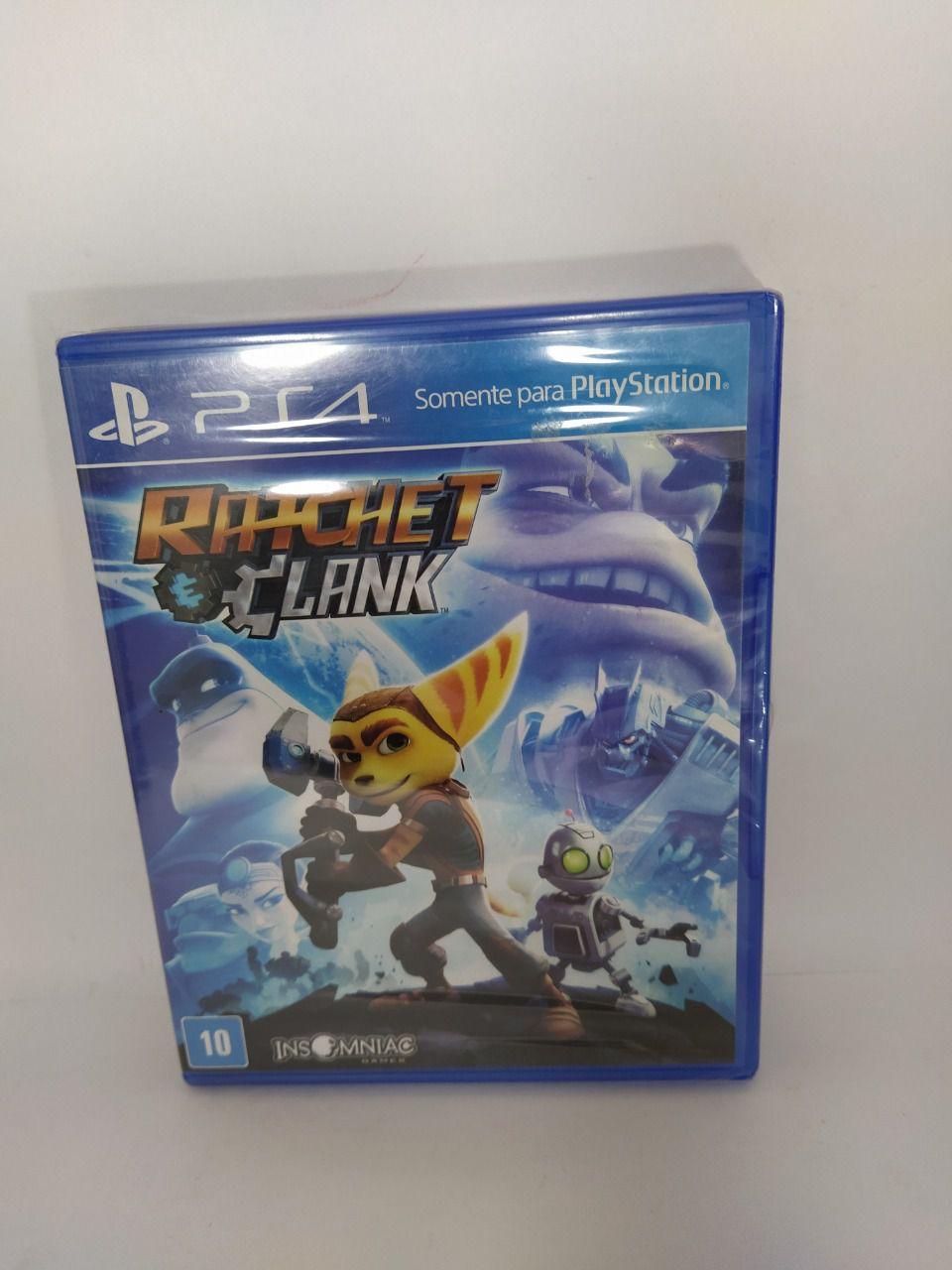Jogo Ps4 Ratchet & Clank Mídia Física Lacrado