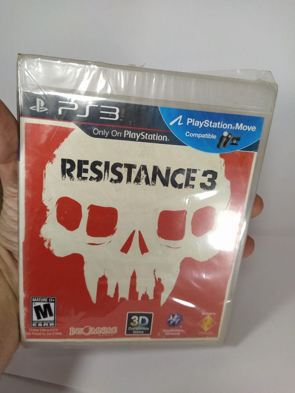 Jogo Resistance 3 Ps3 Novo