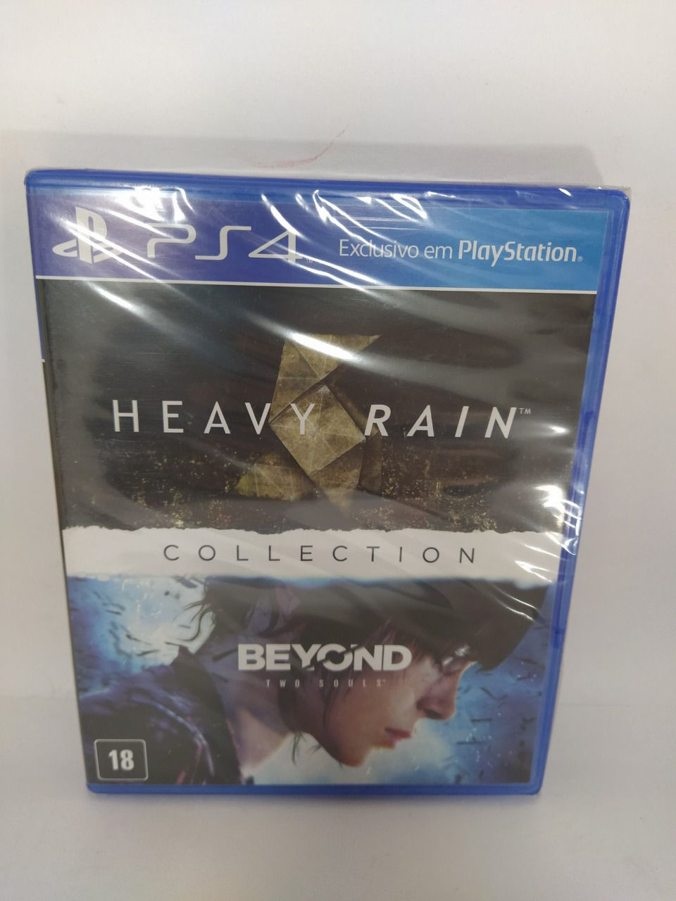 Jogo The Heavy Rain & Beyond Two Souls Collection Ps4 Novo