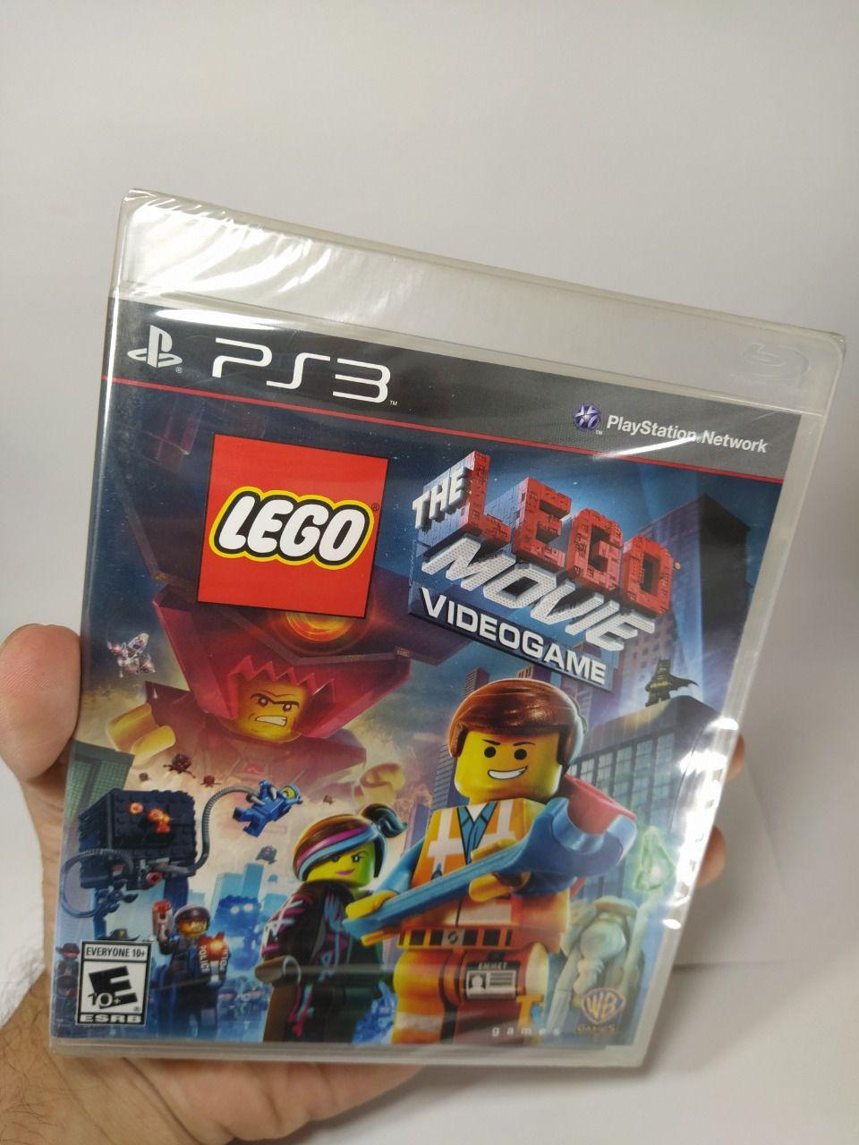 Jogo The Lego Movie Ps3 Novo