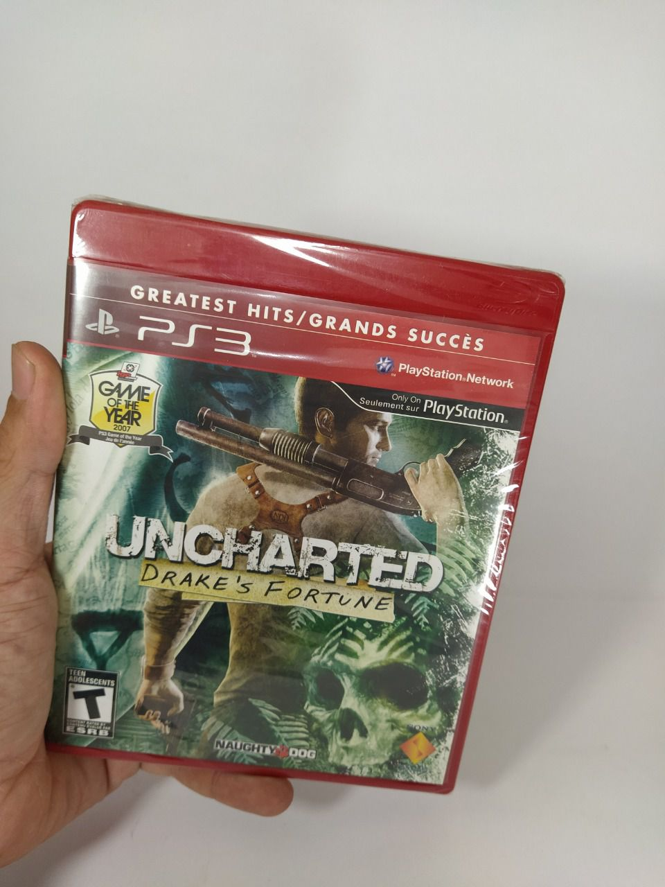Jogo Uncharted: Drake's Fortune Ps3 Mídia Física Lacrado
