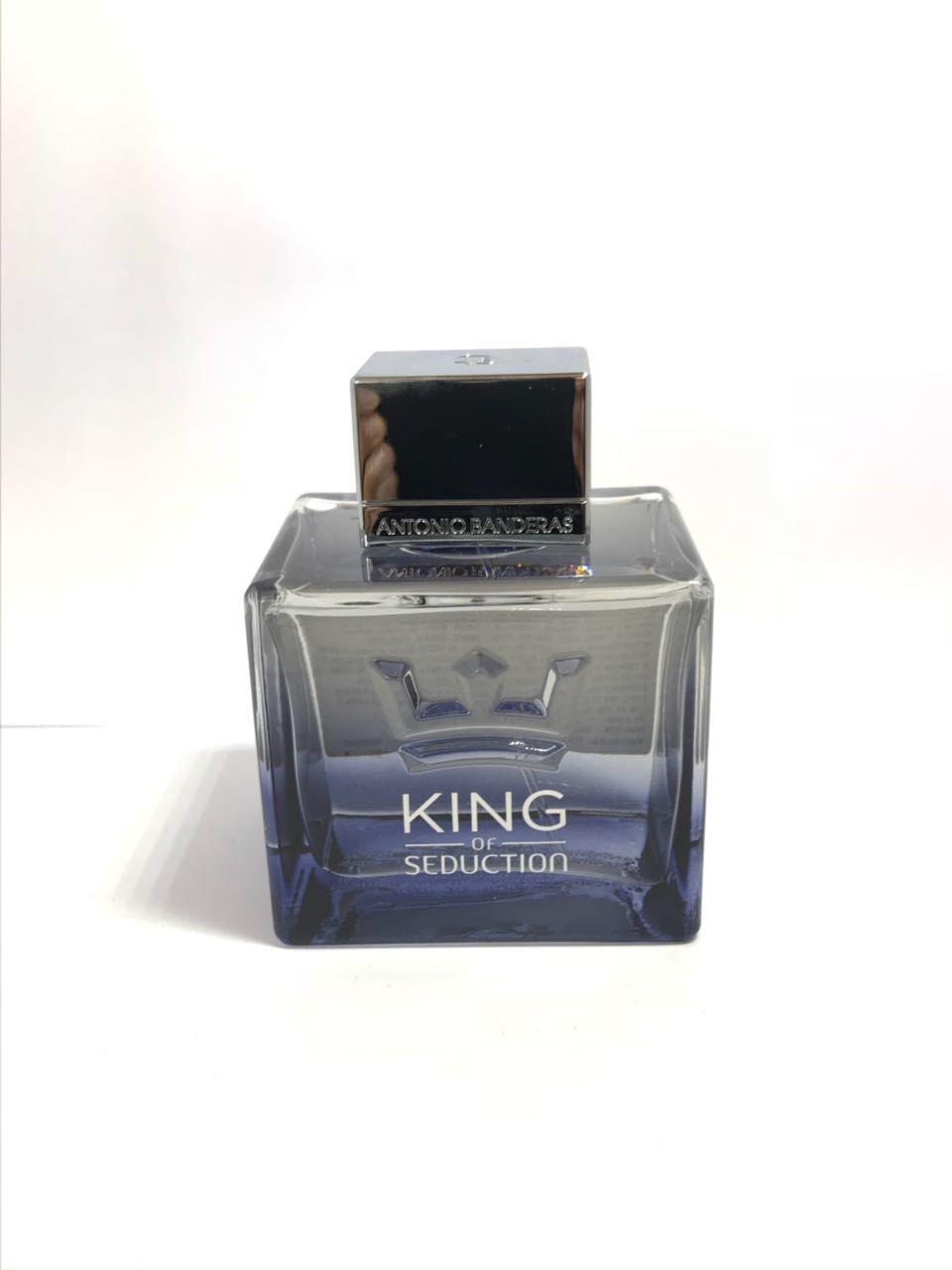 King Of Seduction Antonio Banderas Masculino Eau de Toilette 100ML - Tester